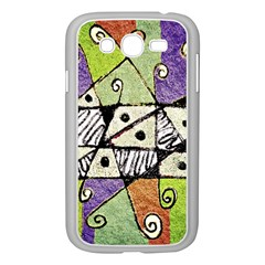 Multicolored Tribal Print Abstract Art Samsung Galaxy Grand Duos I9082 Case (white) by dflcprints