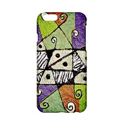 Multicolored Tribal Print Abstract Art Apple Iphone 6 Hardshell Case by dflcprints