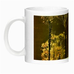 Fantasy Landscape Glow In The Dark Mug by dflcprints