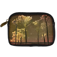 Fantasy Landscape Digital Camera Leather Case by dflcprints
