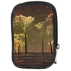 Fantasy Landscape Compact Camera Leather Case by dflcprints