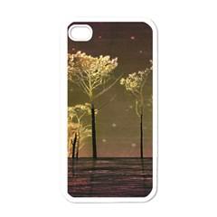 Fantasy Landscape Apple Iphone 4 Case (white) by dflcprints