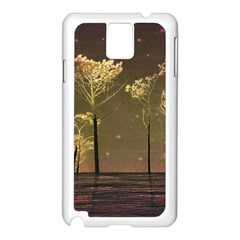 Fantasy Landscape Samsung Galaxy Note 3 N9005 Case (white) by dflcprints