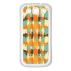Shredded Abstract Background Samsung Galaxy S3 Back Case (white) by LalyLauraFLM
