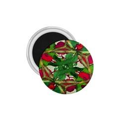 Floral Print Colorful Pattern 1 75  Button Magnet by dflcprints