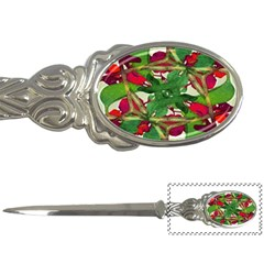 Floral Print Colorful Pattern Letter Opener by dflcprints