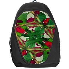 Floral Print Colorful Pattern Backpack Bag by dflcprints