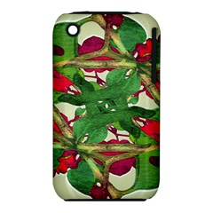 Floral Print Colorful Pattern Apple Iphone 3g/3gs Hardshell Case (pc+silicone) by dflcprints
