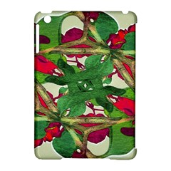 Floral Print Colorful Pattern Apple Ipad Mini Hardshell Case (compatible With Smart Cover) by dflcprints