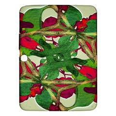 Floral Print Colorful Pattern Samsung Galaxy Tab 3 (10 1 ) P5200 Hardshell Case  by dflcprints