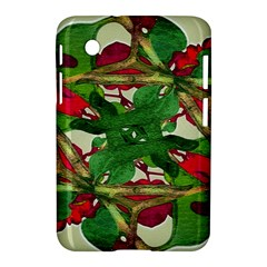 Floral Print Colorful Pattern Samsung Galaxy Tab 2 (7 ) P3100 Hardshell Case  by dflcprints