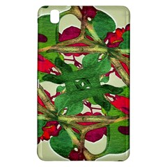 Floral Print Colorful Pattern Samsung Galaxy Tab Pro 8 4 Hardshell Case by dflcprints