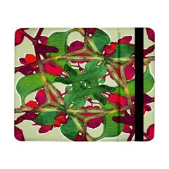 Floral Print Colorful Pattern Samsung Galaxy Tab Pro 8 4  Flip Case by dflcprints