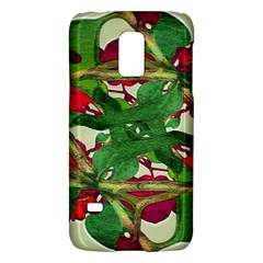 Floral Print Colorful Pattern Samsung Galaxy S5 Mini Hardshell Case
