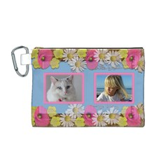 My Little Princess Canvas Cosmetic Bag (medium) By Deborah   Canvas Cosmetic Bag (medium)   Bb4s8uohxlvg   Www Artscow Com Front