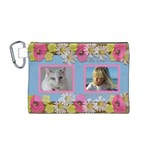 My Little Princess Canvas Cosmetic Bag (medium)