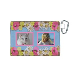 My Little Princess Canvas Cosmetic Bag (medium) By Deborah   Canvas Cosmetic Bag (medium)   Bb4s8uohxlvg   Www Artscow Com Back
