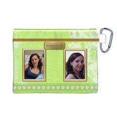 Moments Canvas Cosmetic Bag (large) By Deborah   Canvas Cosmetic Bag (large)   We7ys6ghykwp   Www Artscow Com Back