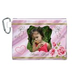 My Angel Canvas Cosmetic Bag (Large)