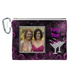 Party Time Canvas Cosmetic Bag (Large)