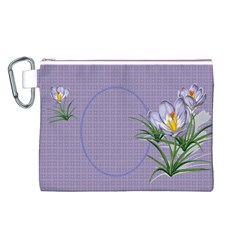 Croton Canvas Cosmetic Bag (large) By Deborah   Canvas Cosmetic Bag (large)   Vueqvrteqehk   Www Artscow Com Front
