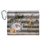 Man Bag 3 Canvas Cosmetic Bag (Large)