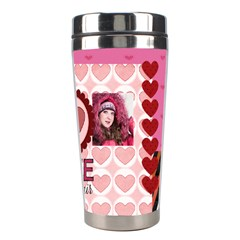 Love By Ki Ki   Stainless Steel Travel Tumbler   E8jtier4qt1k   Www Artscow Com Right