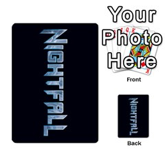 Nightfall Promos Deck 2 By Micah Liebert   Multi Purpose Cards (rectangle)   K8aby4l2qbuq   Www Artscow Com Back 36