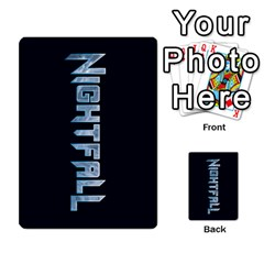 Nightfall Promos Deck 2 By Micah Liebert   Multi Purpose Cards (rectangle)   K8aby4l2qbuq   Www Artscow Com Back 40