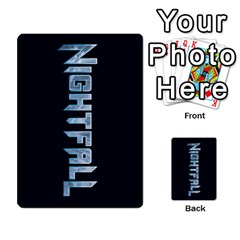 Nightfall Promos Deck 2 By Micah Liebert   Multi Purpose Cards (rectangle)   K8aby4l2qbuq   Www Artscow Com Back 42