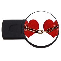 Unbreakable Love Concept 4gb Usb Flash Drive (round) by dflcprints