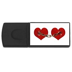 Unbreakable Love Concept 4gb Usb Flash Drive (rectangle) by dflcprints