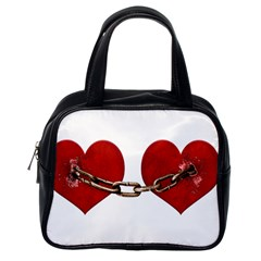 Unbreakable Love Concept Classic Handbag (one Side) by dflcprints