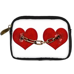 Unbreakable Love Concept Digital Camera Leather Case by dflcprints