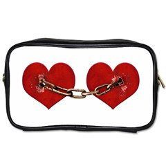 Unbreakable Love Concept Travel Toiletry Bag (two Sides) by dflcprints