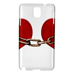 Unbreakable Love Concept Samsung Galaxy Note 3 N9005 Hardshell Case by dflcprints