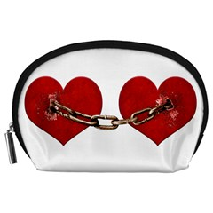 Unbreakable Love Concept Accessory Pouch (large) by dflcprints