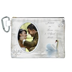 Our Love Canvas Cosmetic Bag (xl) By Deborah   Canvas Cosmetic Bag (xl)   9dk8n1ikz6uw   Www Artscow Com Front