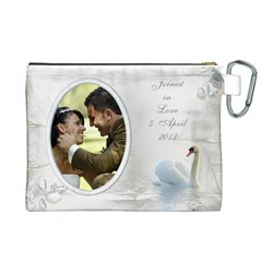 Our Love Canvas Cosmetic Bag (xl) By Deborah   Canvas Cosmetic Bag (xl)   9dk8n1ikz6uw   Www Artscow Com Back
