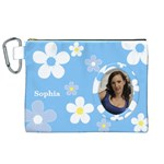 Daisy Canvas Cosmetic Bag (XL)