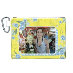 Sunny 2 Canvas Cosmetic Bag (xl) By Deborah   Canvas Cosmetic Bag (xl)   Ac94h5yxjwk2   Www Artscow Com Front