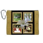 Our Wedding Canvas Cosmetic Bag (XL)