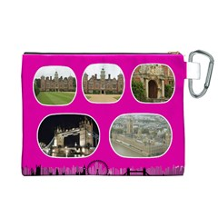 My London 2 Canvas Cosmetic Bag (xl) By Deborah   Canvas Cosmetic Bag (xl)   8vm0od2plr2l   Www Artscow Com Back
