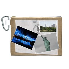 Usa Canvas Cosmetic Bag (xl) By Deborah   Canvas Cosmetic Bag (xl)   B7q47z8an77n   Www Artscow Com Front