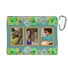 Our Family Canvas Cosmetic Bag (xl) By Deborah   Canvas Cosmetic Bag (xl)   Qzd1t5n3xrws   Www Artscow Com Back