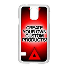 Create Your Own Custom Products And Gifts Samsung Galaxy S5 Case (white)