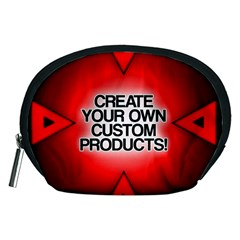 Create Your Own Custom Products And Gifts Accessory Pouch (Medium) by UniqueandCustomGifts