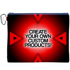Create Your Own Custom Products And Gifts Canvas Cosmetic Bag (XXXL) by UniqueandCustomGifts
