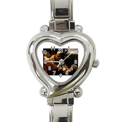 Abraham Heart Italian Charm Watch  by RembrandtRowe