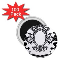 Rembrandt Designs 1.75  Button Magnet (100 pack) by RembrandtRowe